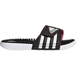 adidas ADISSAGE W čierna 8 - Dámske šľapky