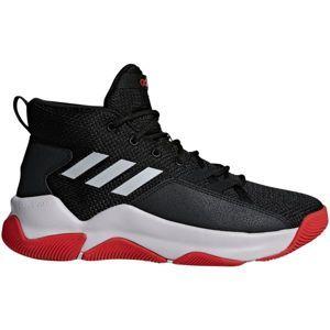 adidas STREETFIRE čierna 9.5 - Pánska basketbalová obuv