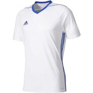 adidas TIRO 17 JSY JR sivá 140 - Juniorský dres s krátkym rukávom