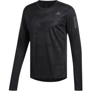 adidas RS LS TEE M čierna M - Pánske tričko