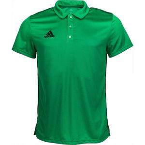 adidas CORE18 POLO zelená S - Polo tričko