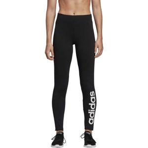 adidas W E LIN TIGHT čierna S - Dámske legíny