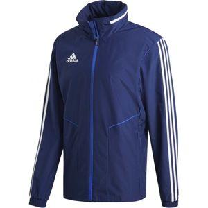 adidas TIRO19 AW JKT tmavo modrá M - Pánska tréningová bunda