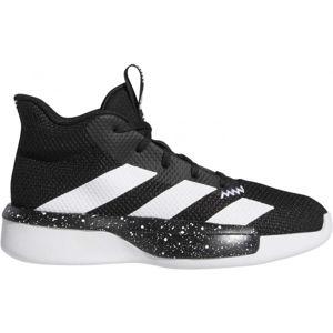 adidas PRO NEXT 2019 K čierna 33 - Detská basketbalová obuv