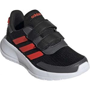 adidas TENSAUR RUN C čierna 35 - Detská voľnočasová obuv