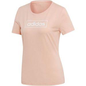 adidas W GRFX BXD T 1 svetlo ružová XS - Dámske tričko