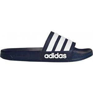 adidas ADILETTE SHOWER modrá 9 - Pánske šľapky