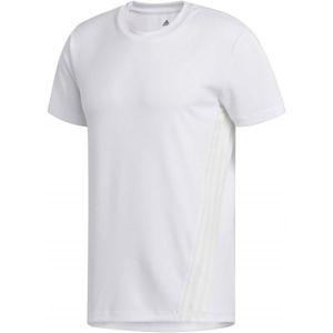 adidas AEROREADY 3S TEE biela M - Pánske športové tričko