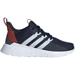 adidas QUESTAR FLOW K tmavo modrá 3.5 - Detská voľnočasová obuv