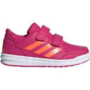 adidas ALTASPORT CF K biela 30 - Detská vychádzková obuv