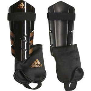 adidas GHOST YOUTH čierna L - Futbalové chrániče