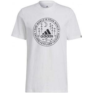 adidas CRCL XPLR TEE  XL - Pánske tričko