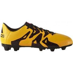 adidas X 15.3 FG/AG J žltá 35 - Detské kopačky