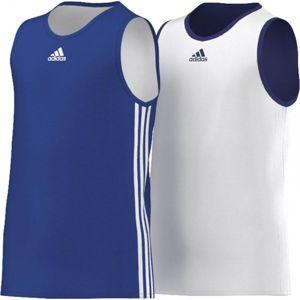 adidas Y TEAM REV JER modrá 140 - Detský basketbalový dres