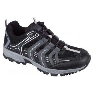ALPINE PRO CHAUSIK čierna 42 - Pánska outdoorová obuv nízka