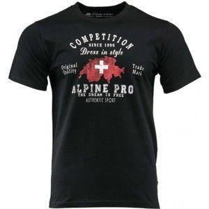 ALPINE PRO CHISIS - Pánske tričko