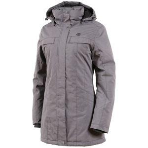 ALPINE PRO HADECA 2 šedá M - Dámsky kabát