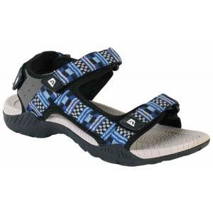 ALPINE PRO LAUN modrá 45 - Pánska letná obuv