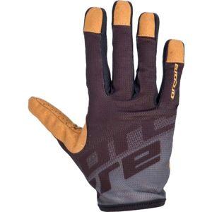 Arcore GECKO čierna M - Cyklistické rukavice