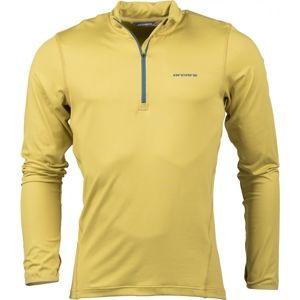 Arcore DUKE zelená XL - Pánske tričko s dlhým rukávom