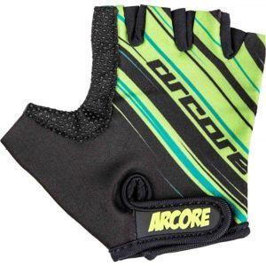 Arcore ZOAC čierna 8 - Detské cyklistické rukavice