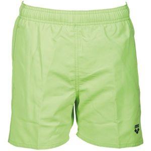 Arena FUNDAMENTALS JR BOXER zelená 8-9 - Chlapčenské kúpacie šortky
