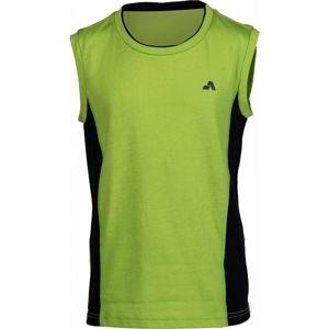 Aress GROVER zelená 116-122 - Dievčenské športové tielko