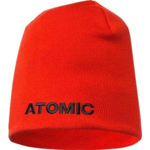 Atomic ALPS BEANIE červená NS - Unisex čiapka