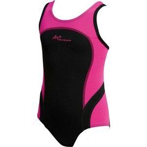 Axis DIEVČENSKÉ PLAVKY čierna 128 - Dievčenské plavky