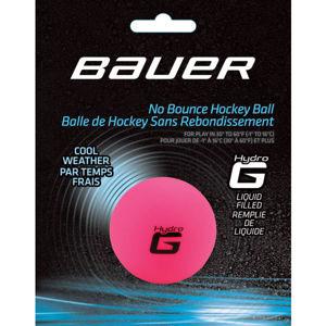 Bauer HOCKEY BALL HYDRO G WARM ružová NS - Hokejové loptičky