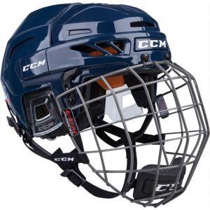 CCM FITLITE 90 COMBO SR modrá (51 - 56) - Hokejová prilba
