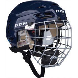 CCM TACKS 110 COMBO SR modrá (55 - 59) - Hokejová prilba