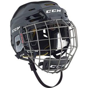 CCM TACKS 310C SR COMBO čierna S - Hokejová prilba
