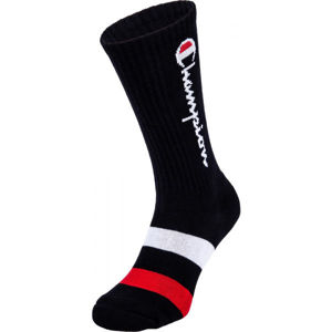Champion ROCHESTER CREW SOCKS X1 čierna 42 - Ponožky