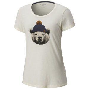 Columbia UNBEARABLE TEE béžová L - Dámske tričko