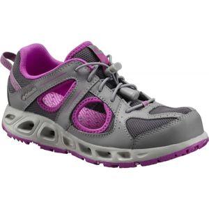 Columbia CHILDREN SUPERVENT sivá 8 - Detská športová obuv