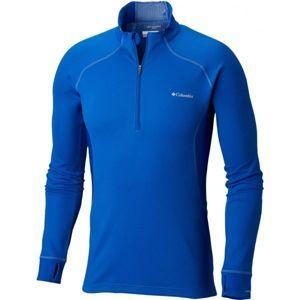 Columbia HEAVYWEIGHT LS HZ M modrá L - Pánske funkčné tričko