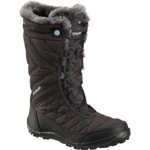 Columbia YOUTH MINX MID III WP OMNI-HEAT čierna 4.5 - Dievčenská zimná obuv