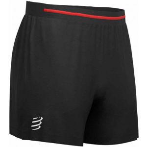 Compressport PERFORMANCE SHORT čierna XL - Pánske bežecké šortky