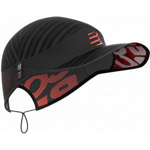Compressport PRO RACING CAP čierna UNI - Bežecká čiapka