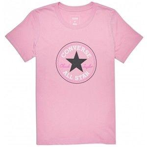 Converse CORE SOLID CHUCK PATCH CREW - Dámske tričko