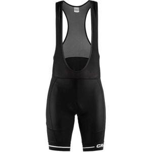 Craft RISE BIB čierna M - Pánske cyklistické nohavice