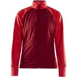 Craft STORM BALANCE červená XXL - Dámska zimná bunda na bežky