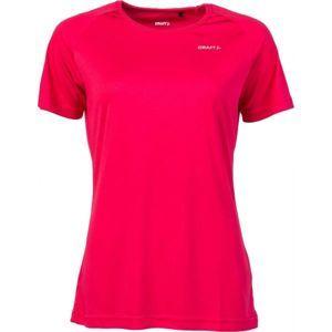 Craft FLY TEE W červená XS - Dámske funkčné triko