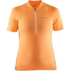 Craft VELO DRES W oranžová L - Dámsky cyklistický dres