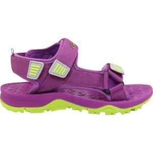 Crossroad MAJOR fialová 35 - Detské sandále