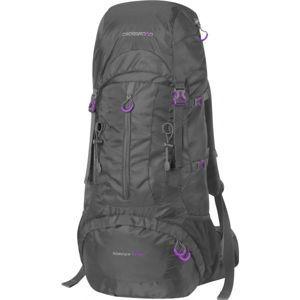 Crossroad SHERPA 50+10 čierna  - Veľkometrážny turistický batoh
