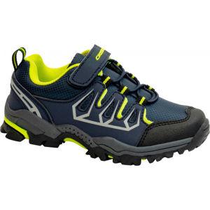 Crossroad DELIQ zelená 31 - Detská treková obuv