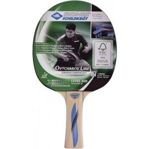 Donic K705242 Ovtcharov 400 FSC tmavo zelená  - Raketa na stolný tenis