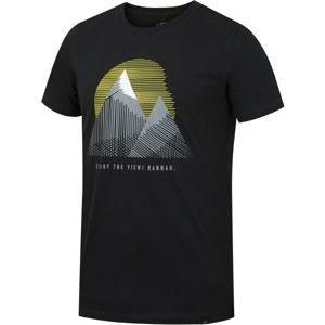 Hannah BORDON sivá XL - Pánske tričko